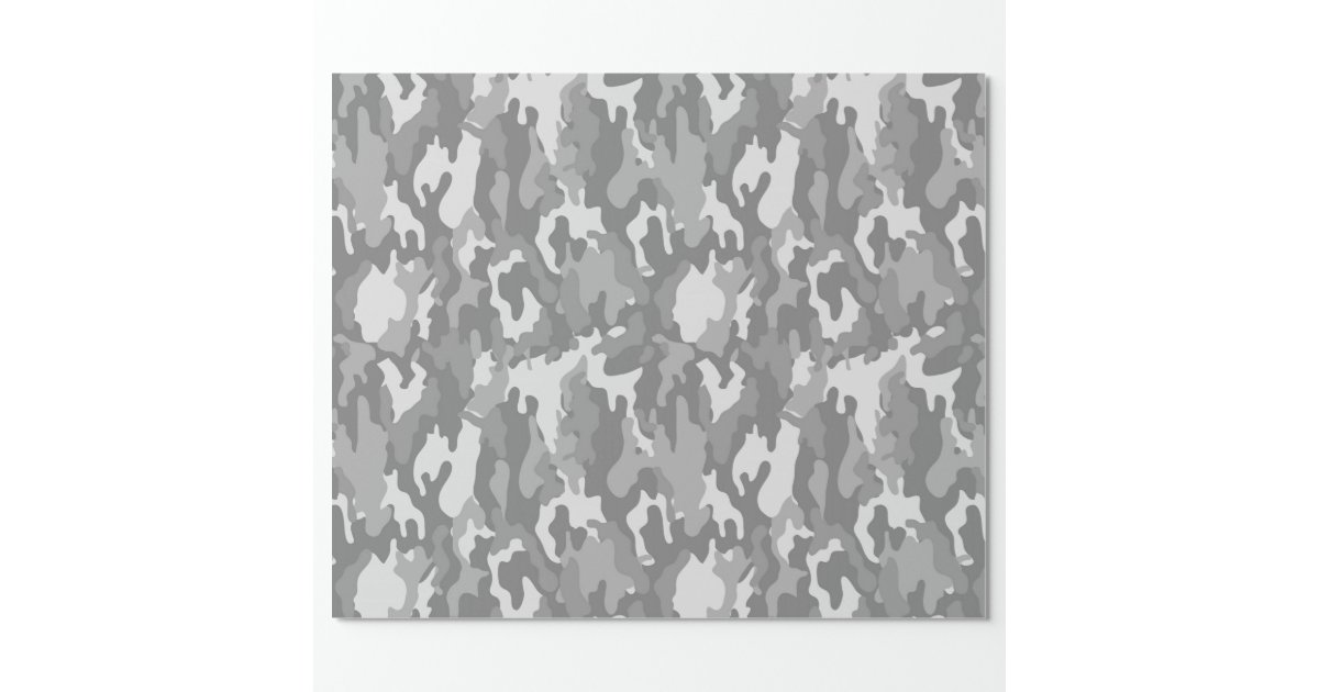 papier d 39 emballage de camouflage d 39 arm e couleur papier cadeau no l zazzle. Black Bedroom Furniture Sets. Home Design Ideas
