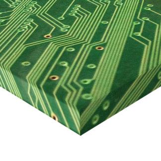 Papier d'emballage de circuit toile tendue sur châssis