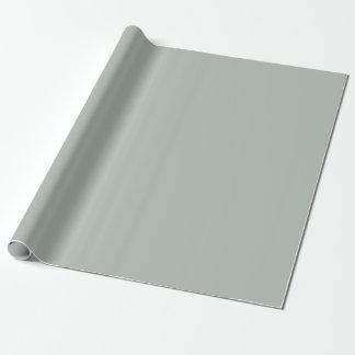 Papier d'emballage de gris argenté/enveloppe de papier cadeau