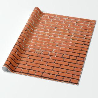 Papier d'emballage de mur de briques papiers cadeaux
