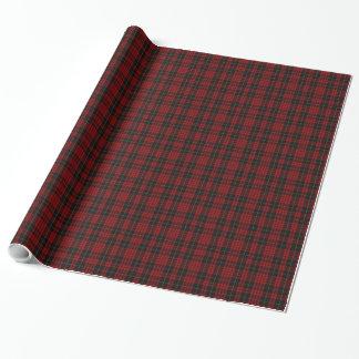 Papier d'emballage de plaid de tartan de MacQueen Papiers Cadeaux Noël