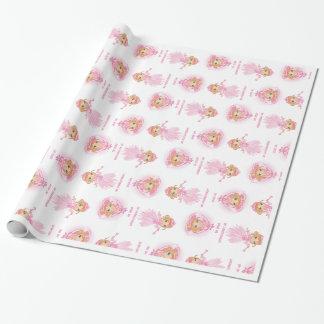 Papier d'emballage de soie féerique papier cadeau