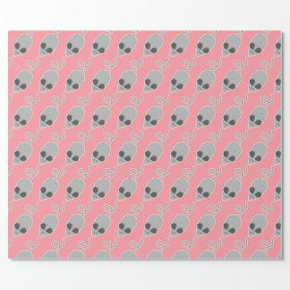 Papier d'emballage de souris papier cadeau