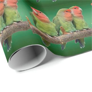 Papier d'emballage de trio de bip papier cadeau
