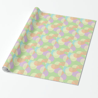Papier d'emballage en pastel coloré d'oeuf de papiers cadeaux noël