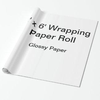 Papier d'emballage fait sur commande (petit pain papiers cadeaux noël