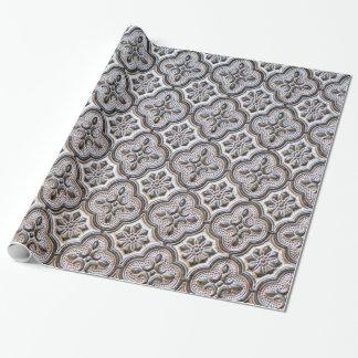 papier d'emballage gothique baroque papiers cadeaux noël
