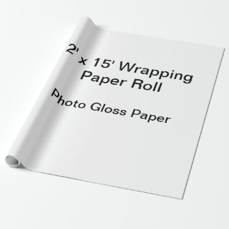 Papier d'emballage (petit pain 2x15, papier de papier cadeau