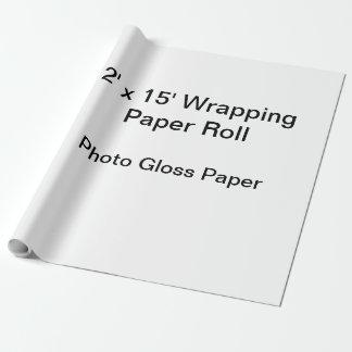 Papier d'emballage (petit pain 2x15, papier de papiers cadeaux noël