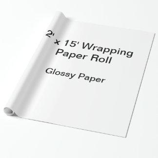 Papier d'emballage (petit pain 2x15, papier papier cadeau