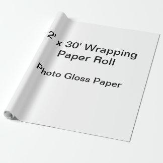 Papier d'emballage (petit pain 2x30, papier de papier cadeau
