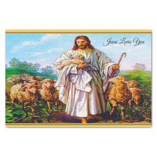 Papier Mousseline 10:7 de John - 21 je suis le bon berger