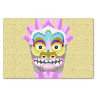 Papier Mousseline Aloha monstre drôle de hutte de Tiki