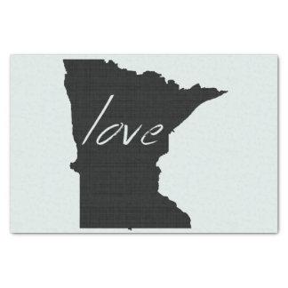 Papier Mousseline Amour Minnesota