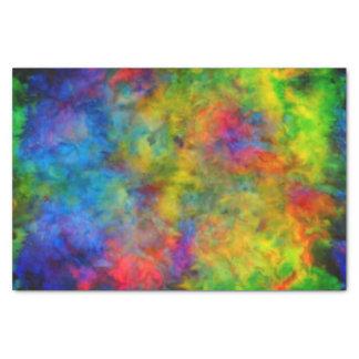 Papier Mousseline [Atomique teignez en nouant] des couleurs