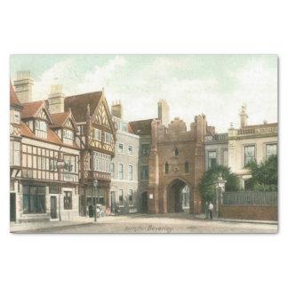 Papier Mousseline Bar du nord, 1900) papiers de soie de soie de