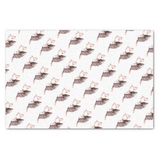 Papier Mousseline Bébé sur la cigogne