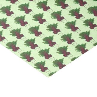 Papier Mousseline Betteraves vertes de légume de jardin de groupe de