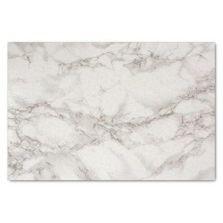 Papier Mousseline Blanc et gris de marbre