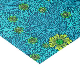 Papier Mousseline Bleu de souci, de turquoise et de cobalt de