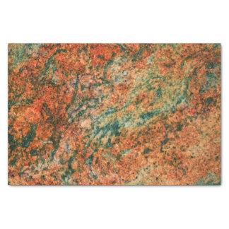 Papier Mousseline Brown et copie de marbre verte de texture