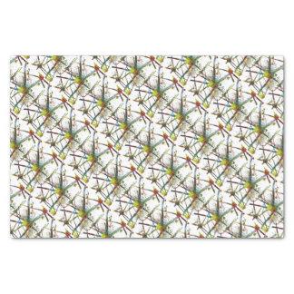 Papier Mousseline Cadeau abstrait médical de synapses