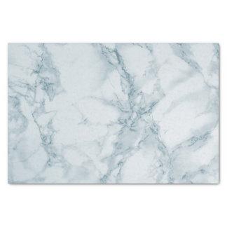 Papier Mousseline Conception de marbre bleu-clair