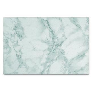 Papier Mousseline Conception de marbre turquoise