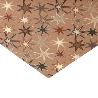 Papier Mousseline Copie de Starburst, café Brown et beige modernes