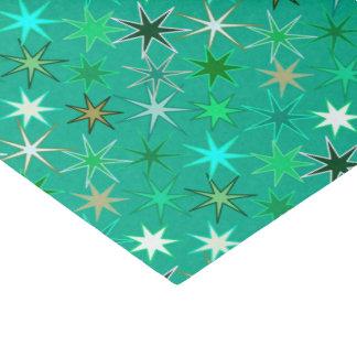 Papier Mousseline Copie, turquoise et Aqua modernes de Starburst