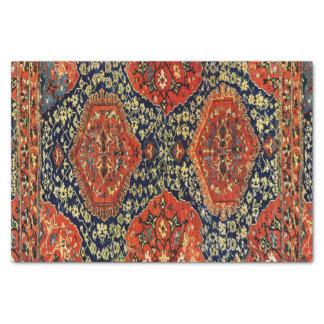 Papier Mousseline Couverture orientale dans le blue&orange