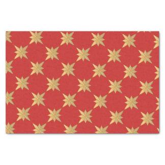 Papier Mousseline Croquis d'étoile de Noël d'or sur les matchs