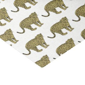 Papier Mousseline Dessin de chat repéré par guépard vintage de