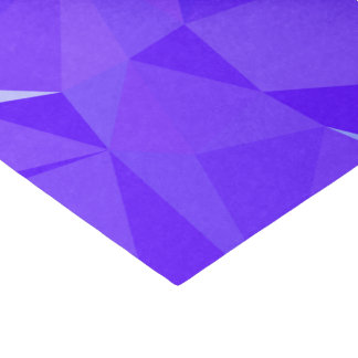 Papier Mousseline Dessin géométrique abstrait de LoveGeo - aubergine