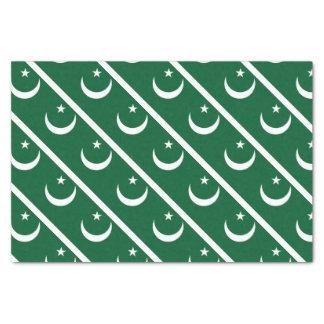 Papier Mousseline Drapeau du Pakistan