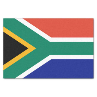 Papier Mousseline Drapeau sud-africain