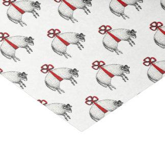 Papier Mousseline Emblème réuni héraldique de crête de moutons de