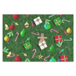 Papier Mousseline Équipements de Noël