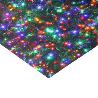 Papier Mousseline Étoiles de scintillement de Noël
