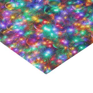 Papier Mousseline Étoiles de scintillement de Noël de luxe