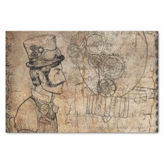 Papier Mousseline Fête des pères de casquette supérieur d'inventeur