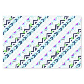 Papier Mousseline Fille aztèque
