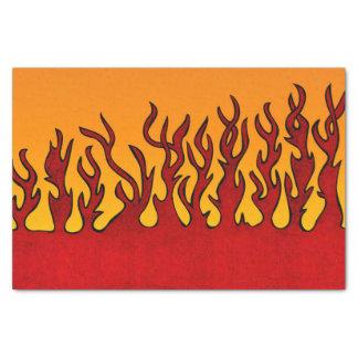 Papier Mousseline Flammes