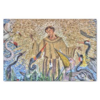 Papier Mousseline Francis de mosaïque d'Assisi