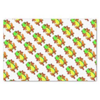 Papier Mousseline Frog spinner