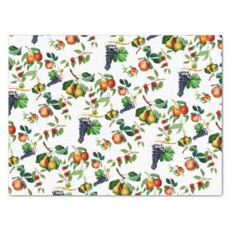 Papier Mousseline Fruit vintage