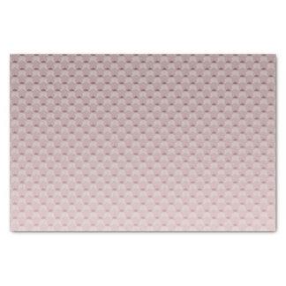 Papier Mousseline Gradient géométrique rose
