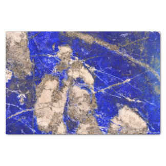 Papier Mousseline Granit-marbre bleu abstrait