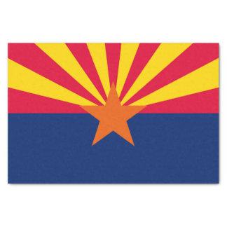 Papier Mousseline Graphique dynamique de drapeau d'état de l'Arizona