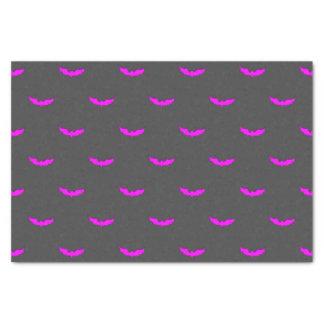 Papier Mousseline Gris moyen de batte rose